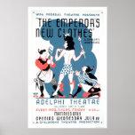 Nueva ropa de los emperadores WPA 1936 Posters