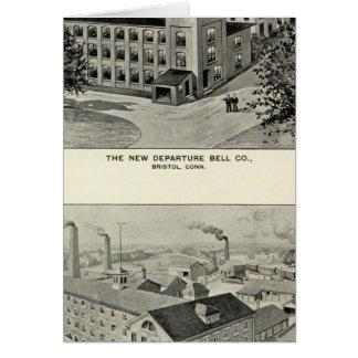 Nueva salida Bell Co, cubiertos Co de Miller Bros Felicitaciones