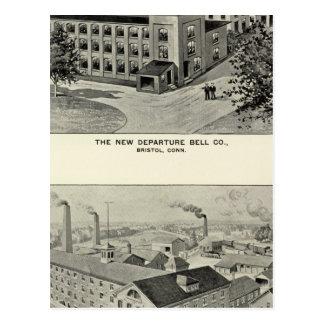 Nueva salida Bell Co, cubiertos Co de Miller Bros Postal