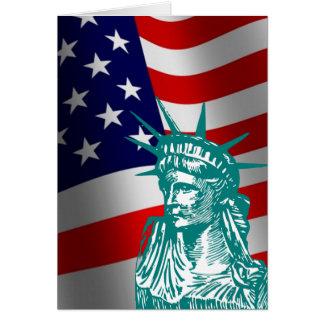 Nueva tarjeta americana del ciudadano de la