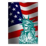 Nueva tarjeta americana del ciudadano de la libert