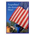 Nueva tarjeta de felicitación americana del boxead