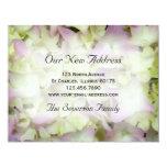 Nueva tarjeta de la invitación de la dirección del invitación 10,8 x 13,9 cm