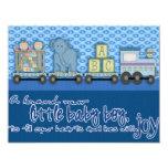 nueva tarjeta del bebé invitaciones personales