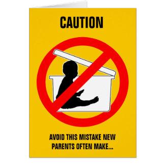 Nueva tarjeta (divertida) del consejo del Parentin