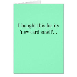 'Nueva tarjeta Smell