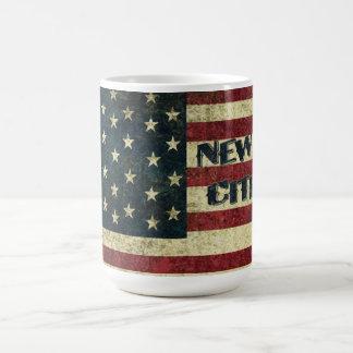 Nueva taza de café del ciudadano de los E.E.U.U.