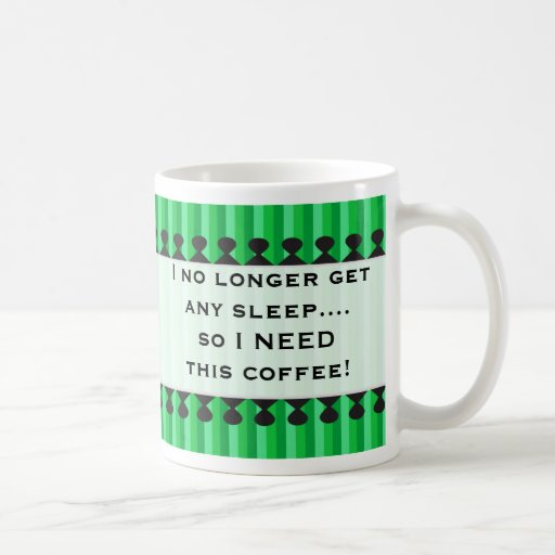 Nueva taza del verde del papá de los toldos brilla