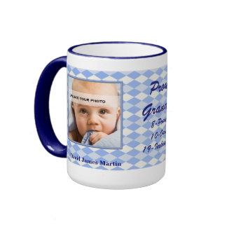 Nueva taza orgullosa de la foto del bebé del