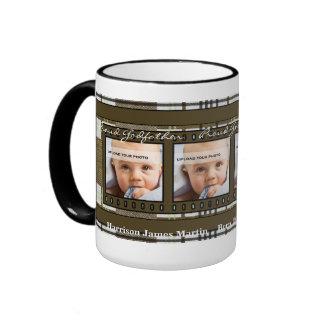 Nueva taza orgullosa de la foto del padrino 4