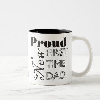 Nueva taza orgullosa de la foto del papá de la