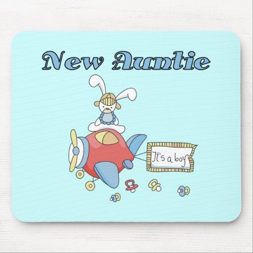 Nueva tía - camisetas y regalos del aeroplano alfombrillas de raton