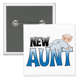 Nueva tía Gift Pins