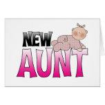 Nueva tía Gift Tarjetas