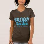 Nueva tía orgullosa - personalícelo camisetas