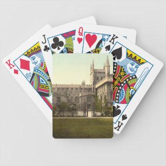 Nueva universidad, Oxford, Inglaterra Baraja De Cartas
