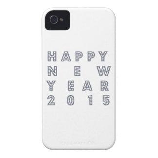 Nueva víspera feliz 2015 de los year´s iPhone 4 protector