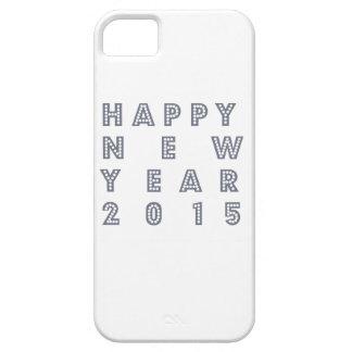 Nueva víspera feliz 2015 de los year´s iPhone 5 protectores