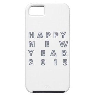 Nueva víspera feliz 2015 de los year´s iPhone 5 funda