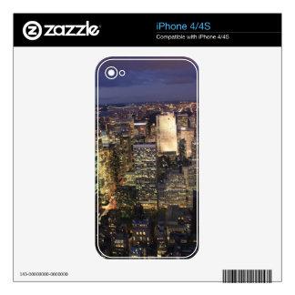 NUEVA YORK 1 iPhone 4S CALCOMANÍAS