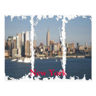 Nueva York apenó la postal