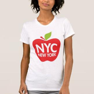 Nueva York Apple grande Camiseta