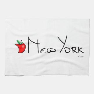 Nueva York Apple grande Toallas
