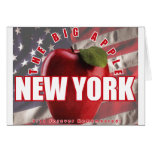 ¡Nueva York Apple rojo - 9/11 recordado para siemp Tarjeton