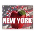 ¡Nueva York Apple rojo - 9/11 recordado para siemp Postal