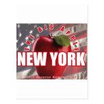 ¡Nueva York Apple rojo - 9/11 recordado para Postal