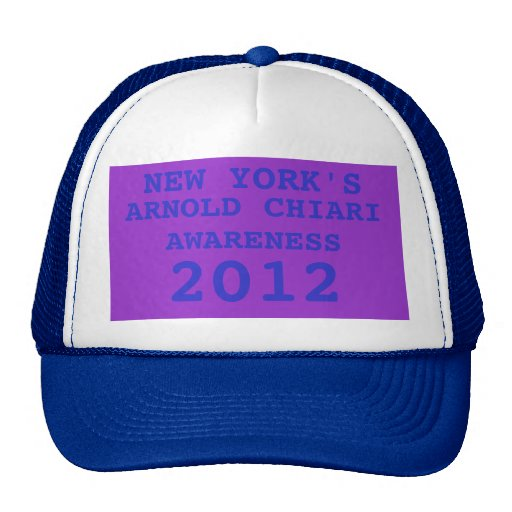 NUEVA YORK, ARNOLD CHIARI, AWARENES 2012 GORRAS