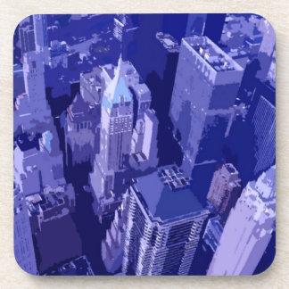 Nueva York azul Posavaso
