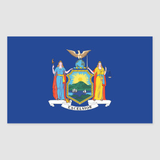 Nueva York/bandera del estado de Yorker, Estados Rectangular Altavoces