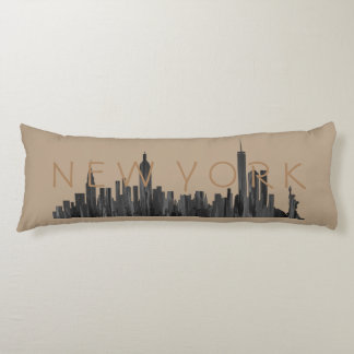 NUEVA YORK, BROCHA DEL HORIZONTE DE NY - ALMOHADA