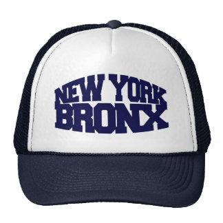 Nueva York Bronx Gorros Bordados