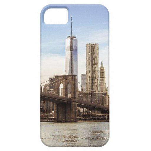 Nueva York Brooklyn puente iPhone 5 Case-Mate Fundas