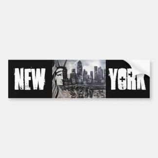 Nueva York Pegatina Para Auto