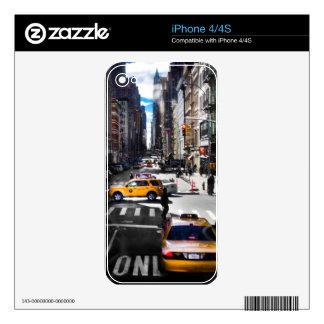 Nueva York Calcomanía Para iPhone 4S
