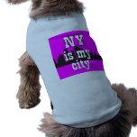 Nueva York Camisetas De Mascota