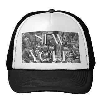 Nueva York capsula los casquillos y los regalos de Gorros
