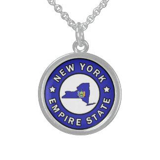 Nueva York Collar De Plata De Ley