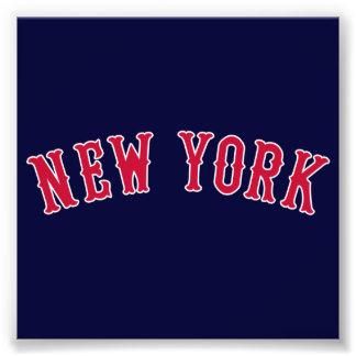 Nueva York contra los rivales de Boston Fotografia