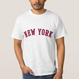 Nueva York contra los rivales de Boston Playera