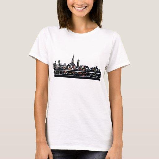 Nueva York cupo la camiseta blanca