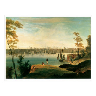 Nueva York de Brooklyn Heights circa 1834 Postal