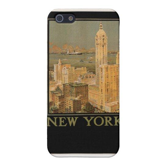 Nueva York de Glasgow por la línea del ancla iPhone 5 Fundas