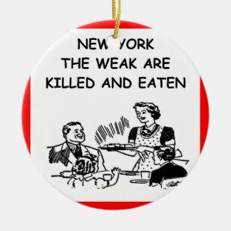 Nueva York Adornos De Navidad