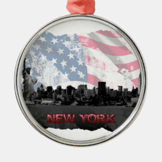 Nueva York Ornamento Para Arbol De Navidad