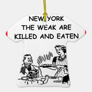 Nueva York Ornaments Para Arbol De Navidad