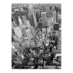 Nueva York desde arriba Tarjetas Postales